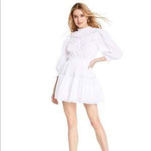 LoveShackFancy Target - Talulah Pintuck Yoke Dress